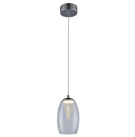 nowoczesna lampa wisząca szklany klosz