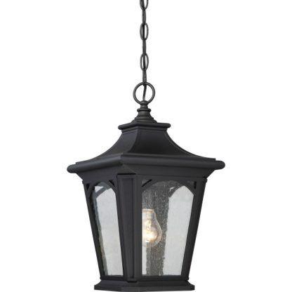 czarna lampa wisząca klasyczna