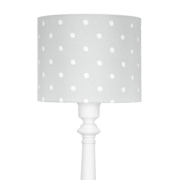 podłogowa lampa dziecięca w kropki