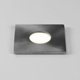 Oczko świetlne Terra Sguare - kwadratowe, szczotkowana stal, IP65