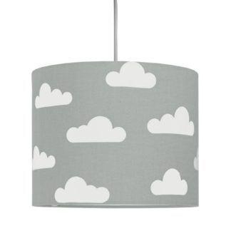 Lampa wisząca Young Mini - abażur w chmurki