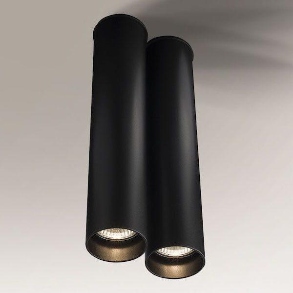 podwójna długa lampa tuba