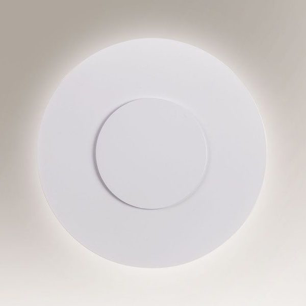 Designerski kinkiet LED do salonu