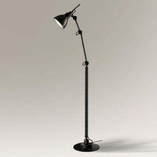 Skandynawska lampa podłogowa Daisen - czarna
