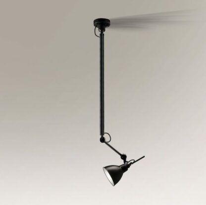 nowoczesna lampa wisząca na wysięgniku