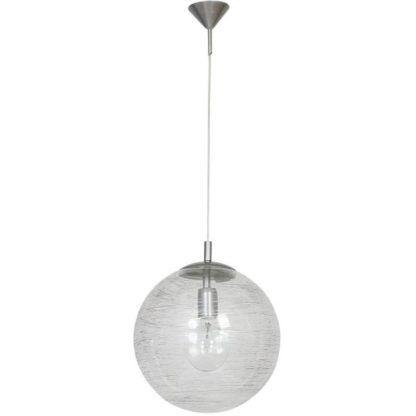 szklana kula lampa wisząca