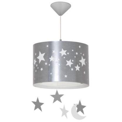 lampa wisząca w gwiazdki