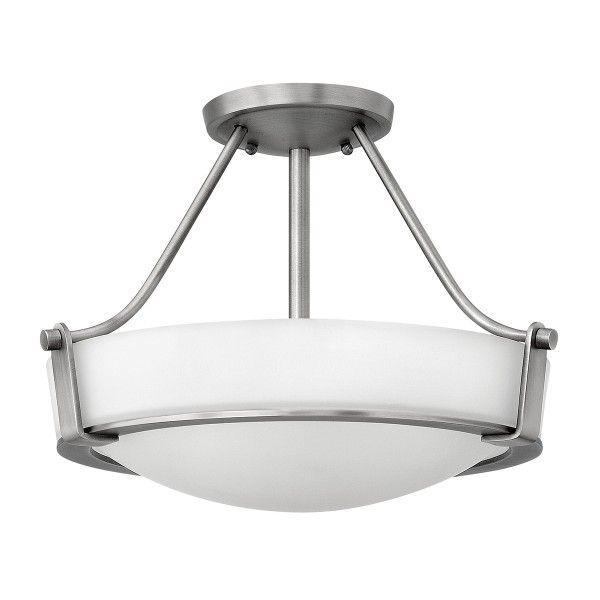biała lampa sufitowa szklana