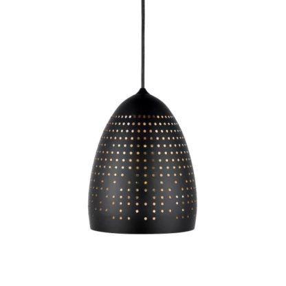 lampa wisząca czarny klosz z metalu
