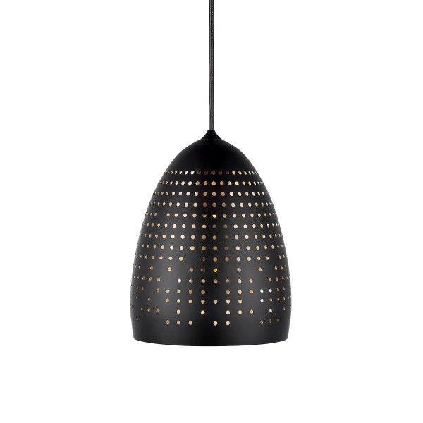 nowoczesna lampa wisząca czarna