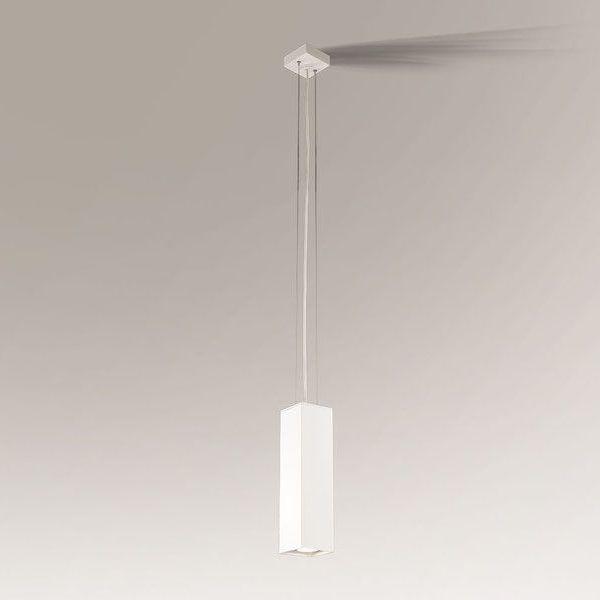 lampa z wąskim prostokątnym kloszem