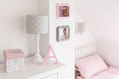 szare lampy do pokoju dziecka pastele