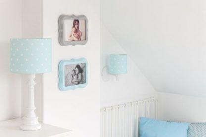 niebieskie lampy do pokoju dziecka
