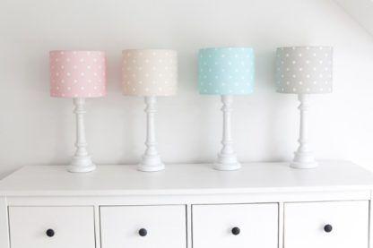 pastelowe lampki nocne do pokoju dziecięcego