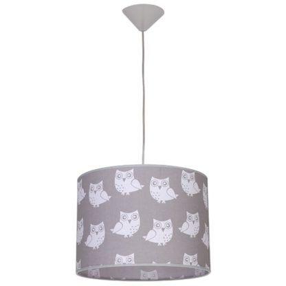 lampa wisząca w sowy