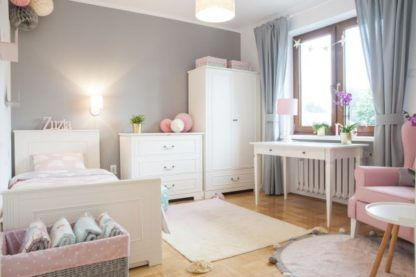 pastelowy pokój dziewczynki lampy