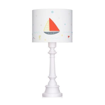lampka stołowa z łódką