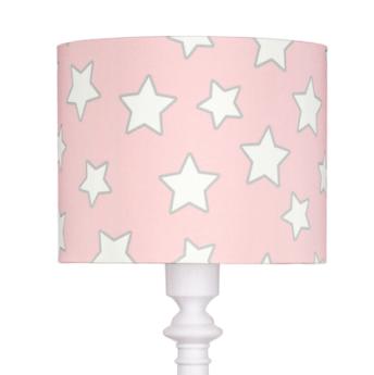 lampa podłogowa w gwiazdki dla dziewczynki