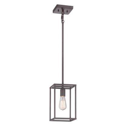 druciana geometryczna lampa wisząca
