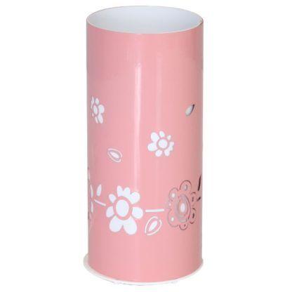jasnoróżowa lampa stołowa dla dziewczynki