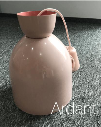 lampa wisząca pudrowy róż