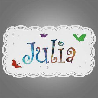 Kinkiet dziecięcy Julia - metalowy, biały