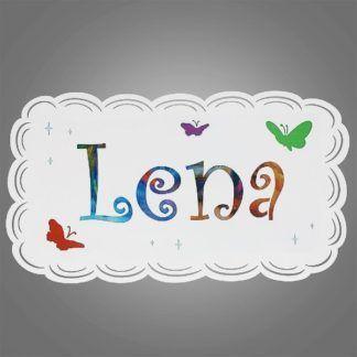 Kinkiet dziecięcy Lena - metalowy, biały