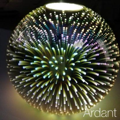 lampa z hologramem