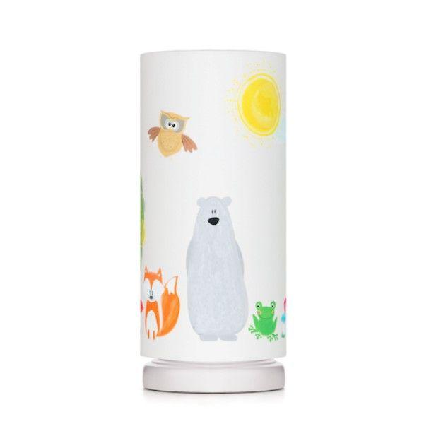 lampki do pokoju dziecięcego zwierzątka