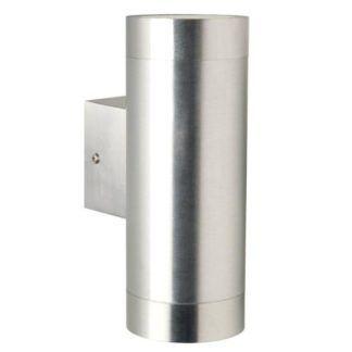 Kinkiet Tin Maxi - Nordlux - srebrny, IP54, 2-punktowy
