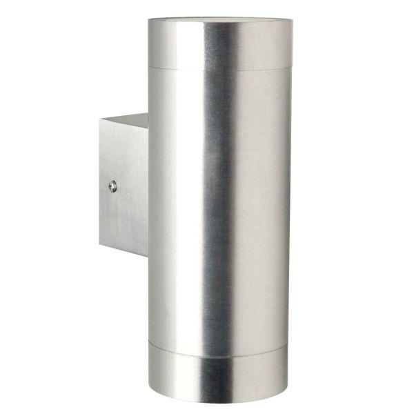 srebrny kinkiet duża tuba