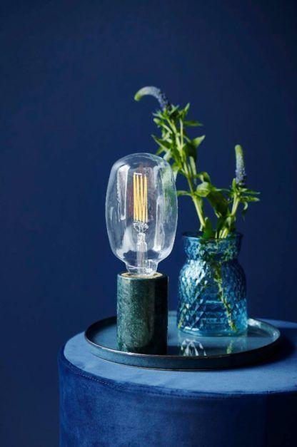 lampa stołowa bez klosza industrialna