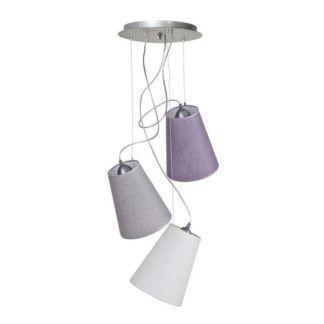Nowoczesna lampa wisząca Retto - 3 abażury