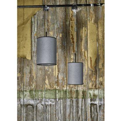 nowoczesna lampa wisząca szara