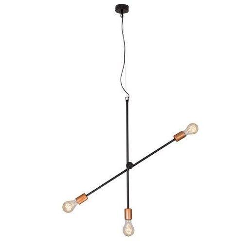 metalowa lampa wisząca wahadło