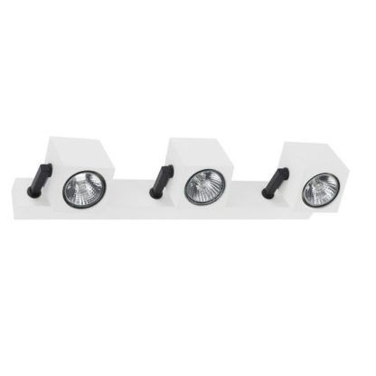 potrójna lampa z reflekrorami