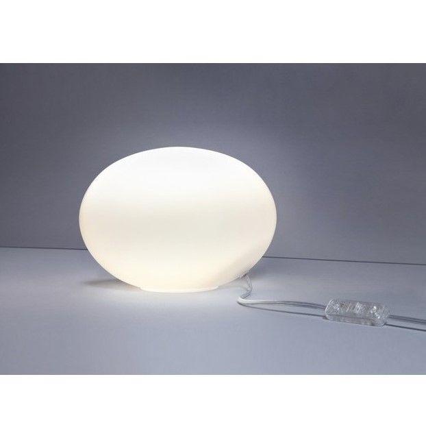 okrągła lampa stołowa kula