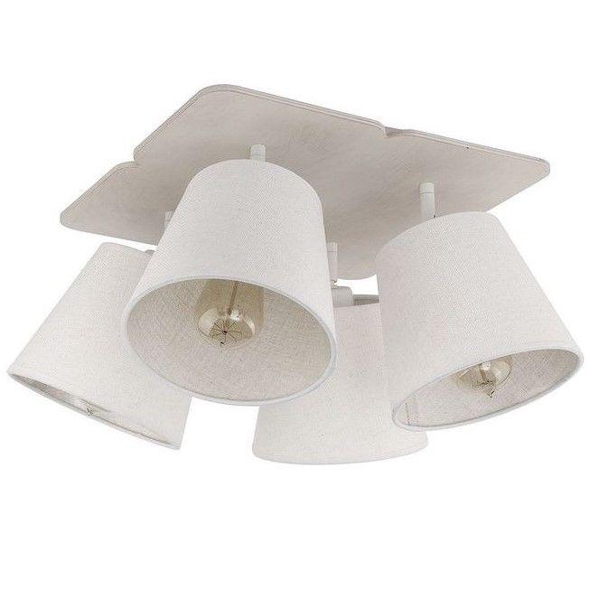 Gustowna lampa sufitowa Awinion - 4 abażury