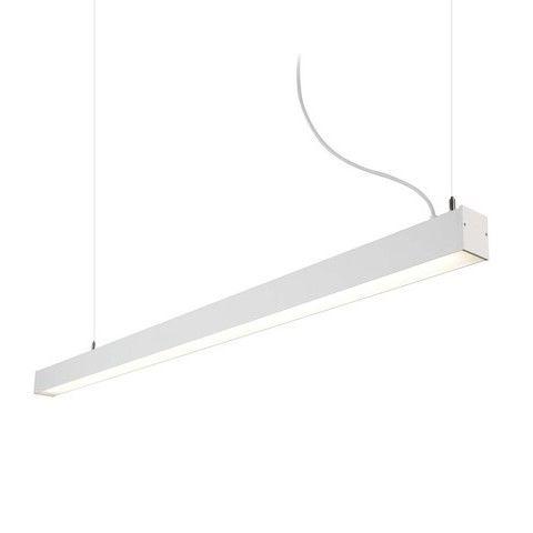 lampa wisząca biała świetlówka
