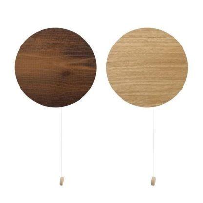drewniany kinkiet
