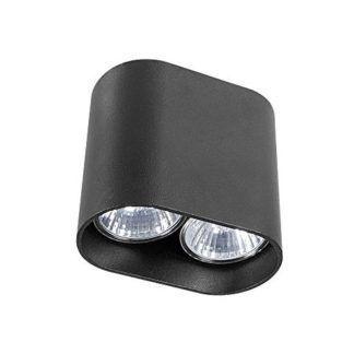 Czarne oczko stropowe Pag - nowoczesne