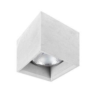 Szare oczko stropowe Bold - betonowe
