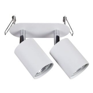Lampa sufitowa Eye Fit - białe reflektory