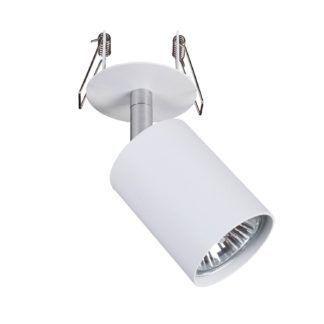 Biały reflektor Eye Fit - oświetlenie punktowe