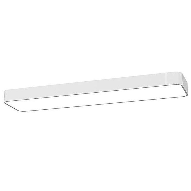lampa sufitowa biała na świetlówkę