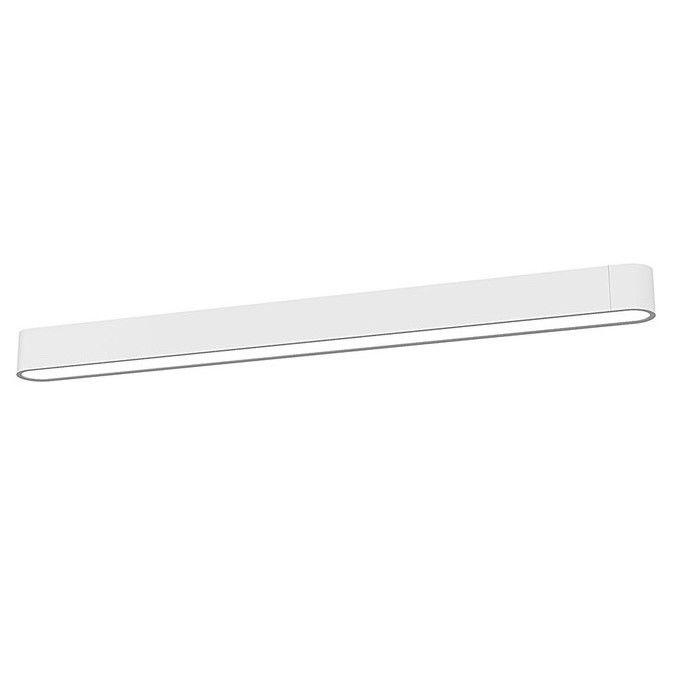 podłużna lampa sufitowa świetlówka