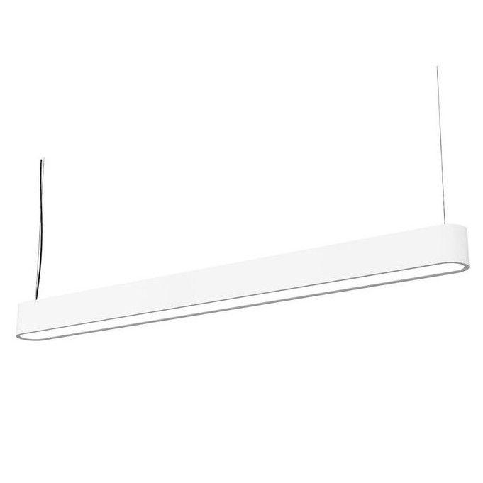 biała lampa wisząca minimalizm