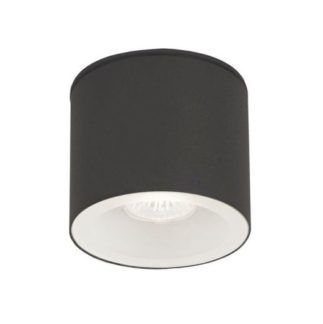 Czarny spot sufitowy Hexa - nowoczesny design