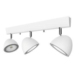 Potrójna lampa sufitowa Vespa - białe reflektory