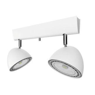 Podwójna lampa sufitowa Vespa - biała